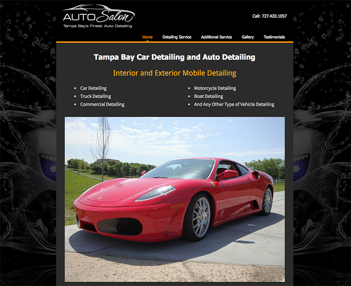 Best Web Design Missoula - Tampa Bay Auto Salon