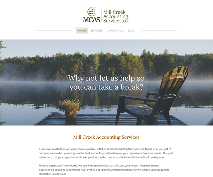 Web Design Missoula - Mill Creek Accounting Services, LLC