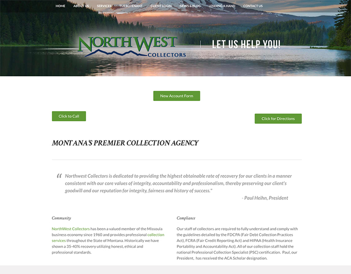 Designing a Website Missoula - Northwest Collectors